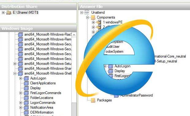 MDT: Issues restoring image with Internet Explorer 10 or 11