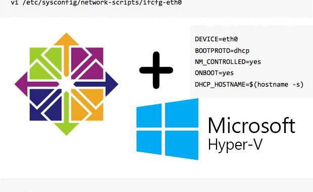 How To: Networking in CentOS under Hyper-V - Earth-Works Tips
