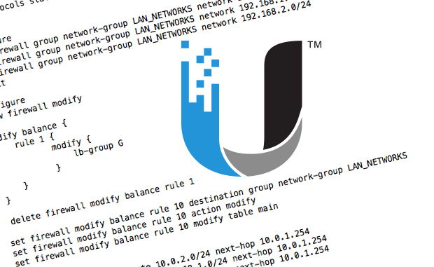 LAN to LAN Routing with Ubiquiti EdgeRouter Dual-WAN - Earth-Works